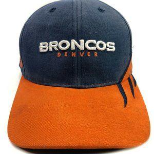 VINTAGE DEADSTOCK 90's Denver Broncos One Size Hat